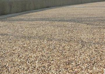 白色石子露骨料透水混凝土