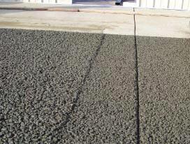 透水混凝土路面的伸缩缝(价格)